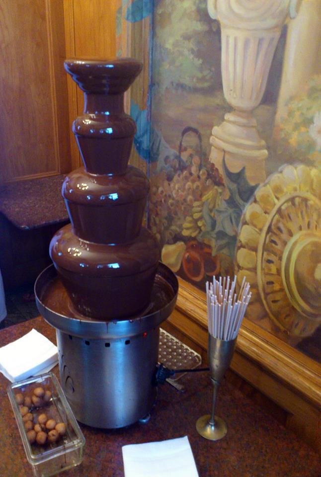A képen a csokimúzeum egyik csokifája látható