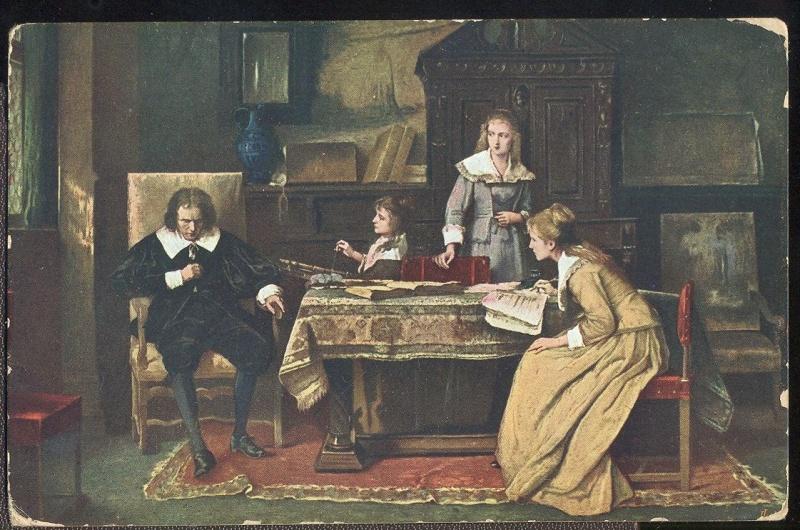 A Milton c. festményről készített fénykép