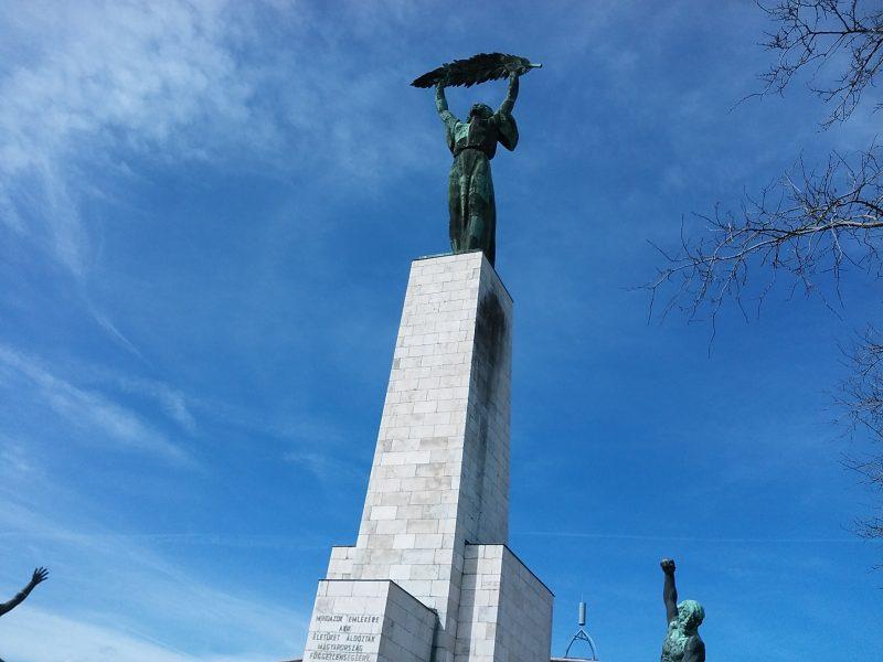 A képen a Szabadság-szobor látható