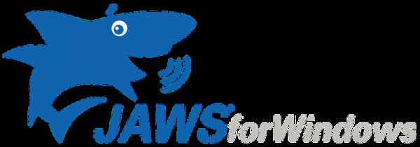 a képen a JAWS for windows logója látható