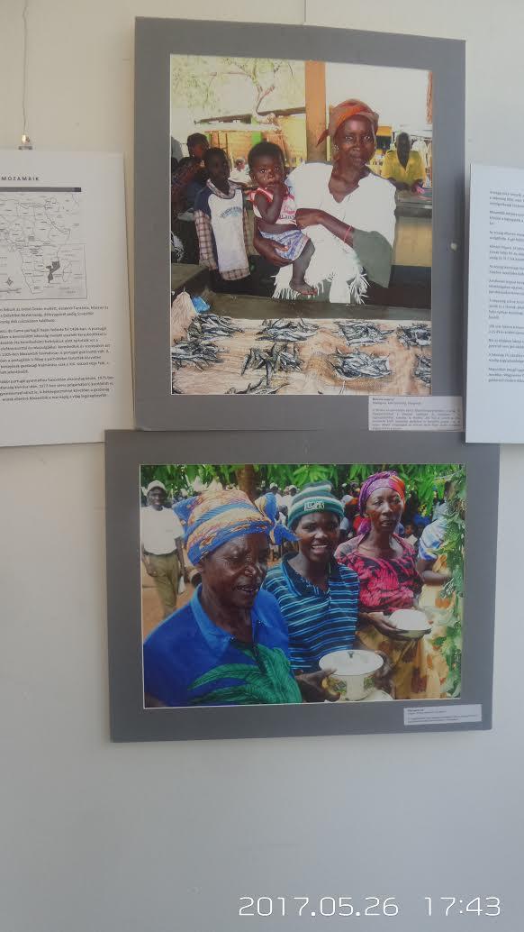 A képen az afrikai emberekről vannak képek