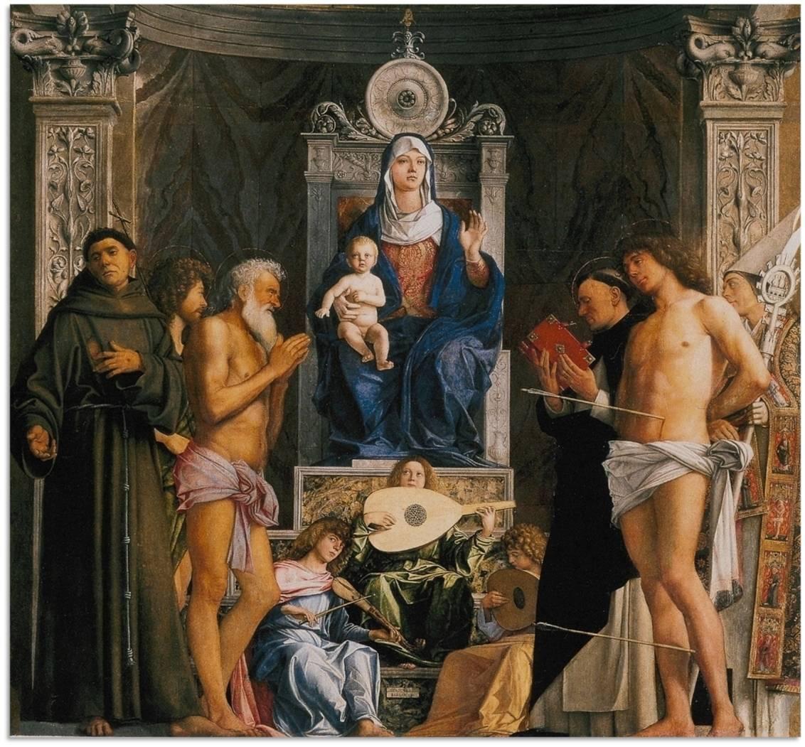 Giovanni Bellini, ez a velencei San Giobbe templom oltárképe