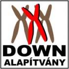 A képen a Down Alapítvány logója látható