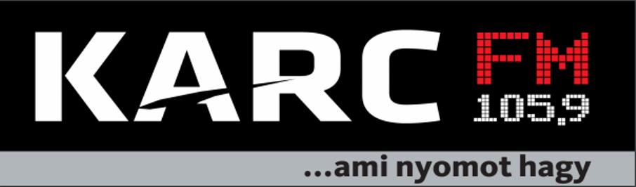 A képen a Karc FM logója látható