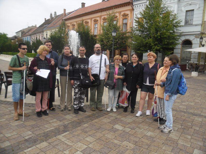 A képen a csoportunk tagjai láthatóak