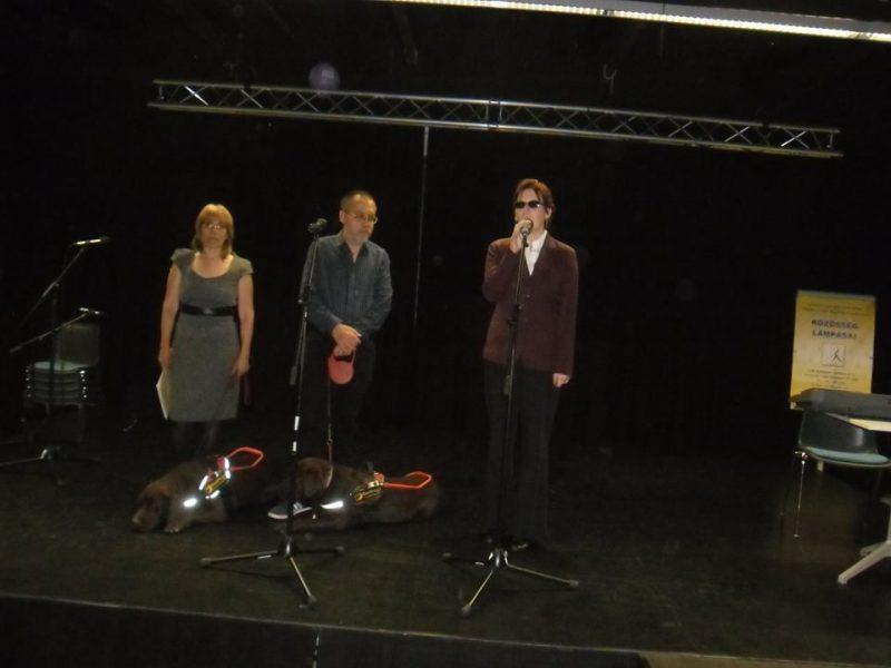 A képen Fodor Ágnes, Kiss Márta és Tanai Csaba látható