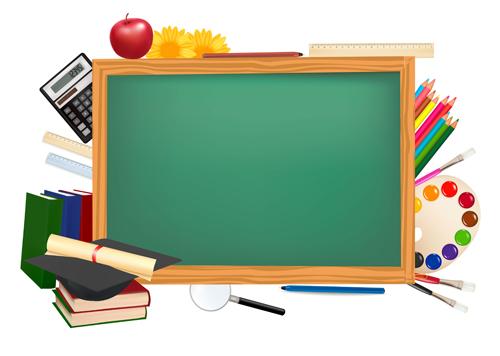 A képen egy iskolai tantermi tábla látható