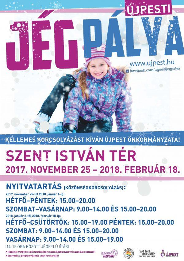A jégpálya plakátja