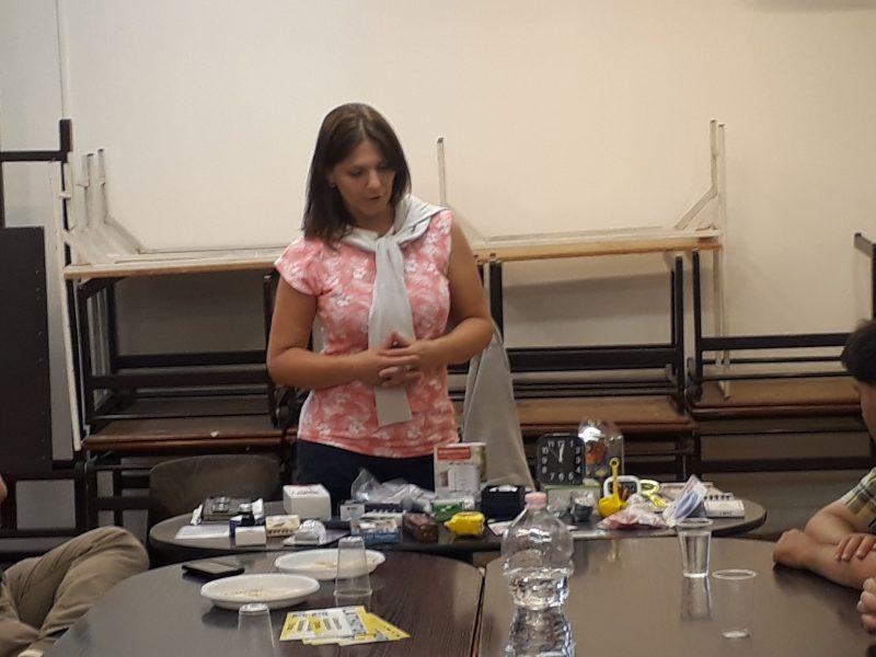 Katona Zsuzsa beszél a 18. kerületi klubnapon