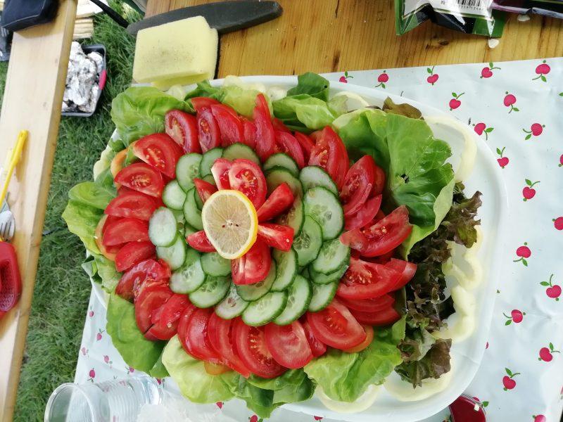 A képen a kész étel látható