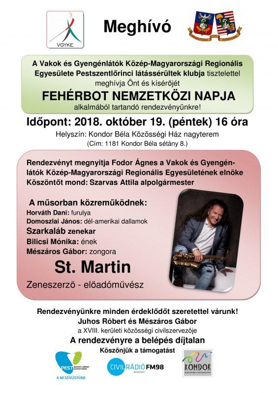 A rendezvény plakátja látható a képen