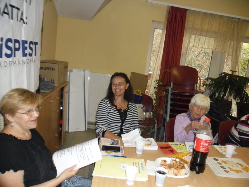 A kispesti klubnap vendége, Mariann látható a képen