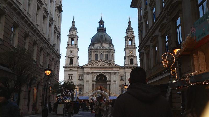 A Bazilika látképe, ahova a kispestiek ellátogattak