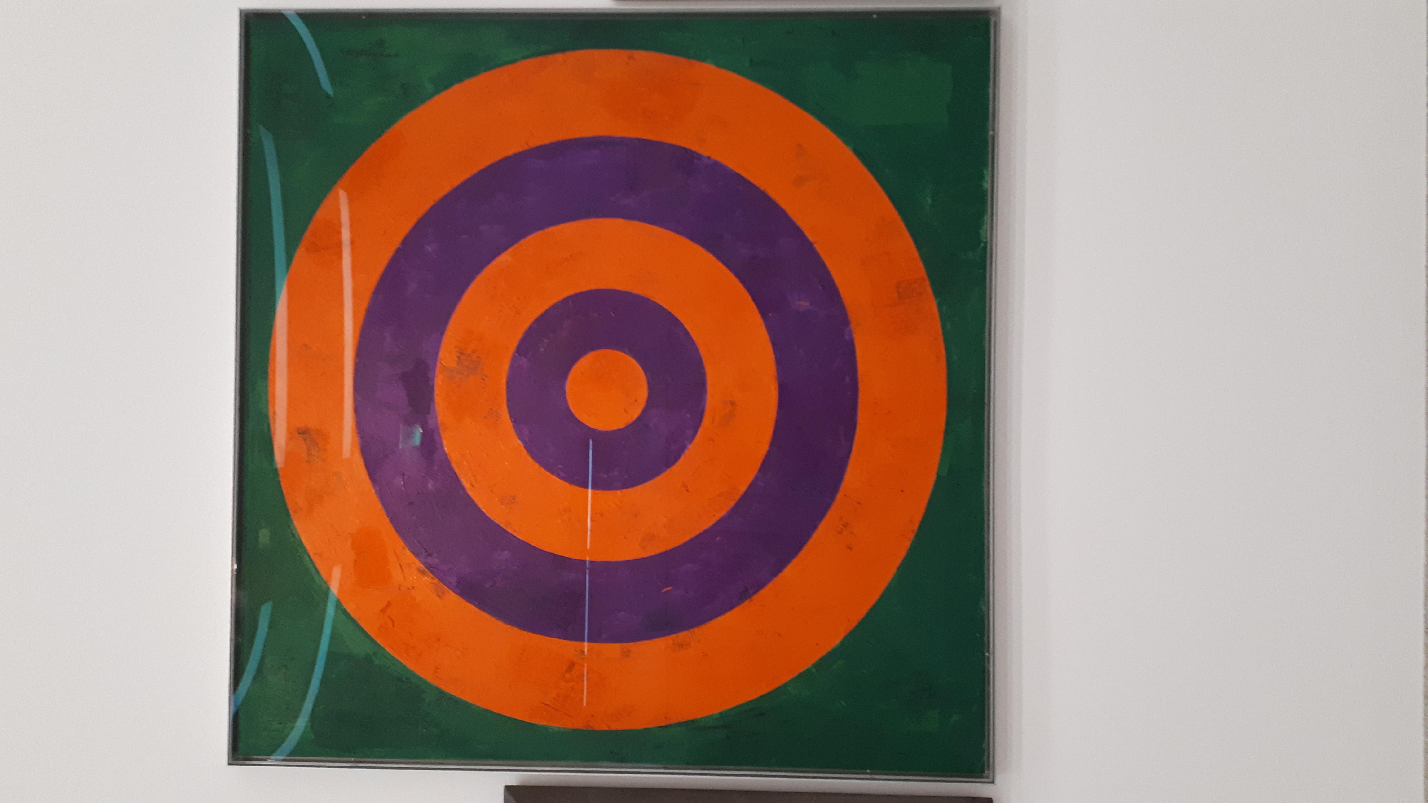 36. Jasper Johns Target