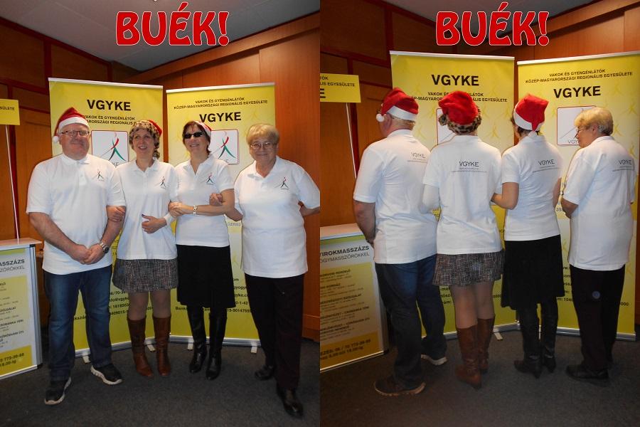 A VGYKE vezetése vidám csapat