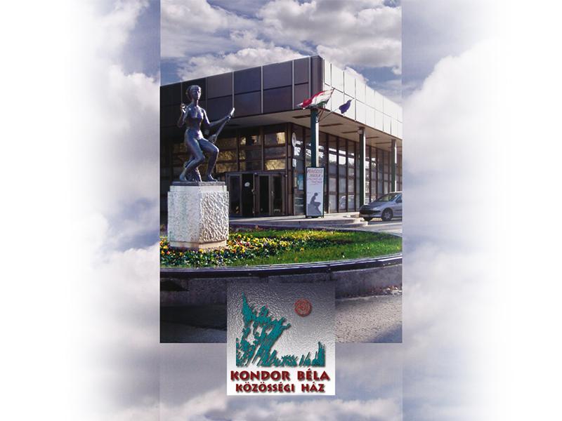 A képen a klubnapok helyszíne, a Kondor Béla Közösségi Ház látható.