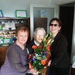 104 éves lett Egyesületünk legidősebb tagja