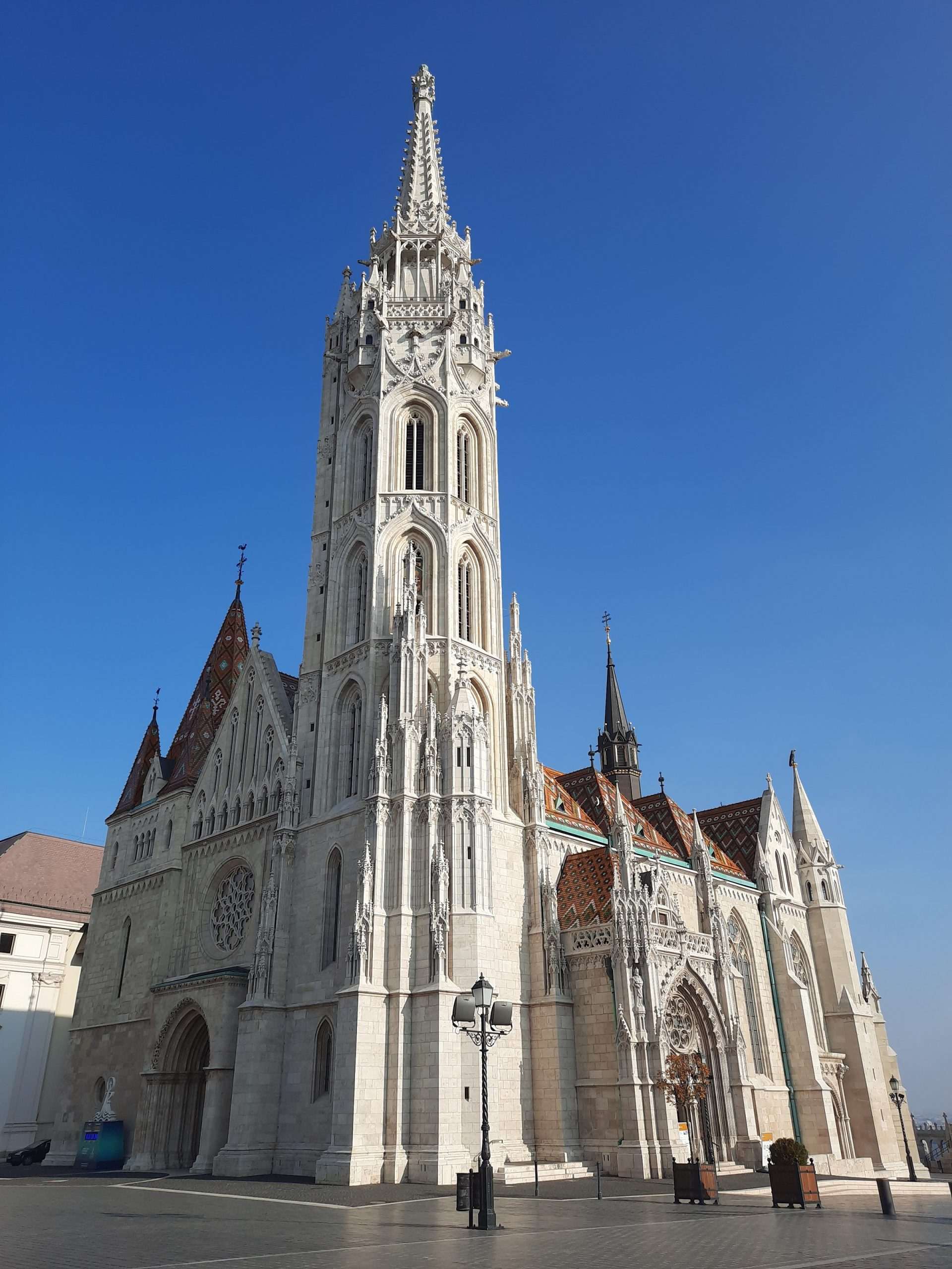 A Mátyás-templom épülete