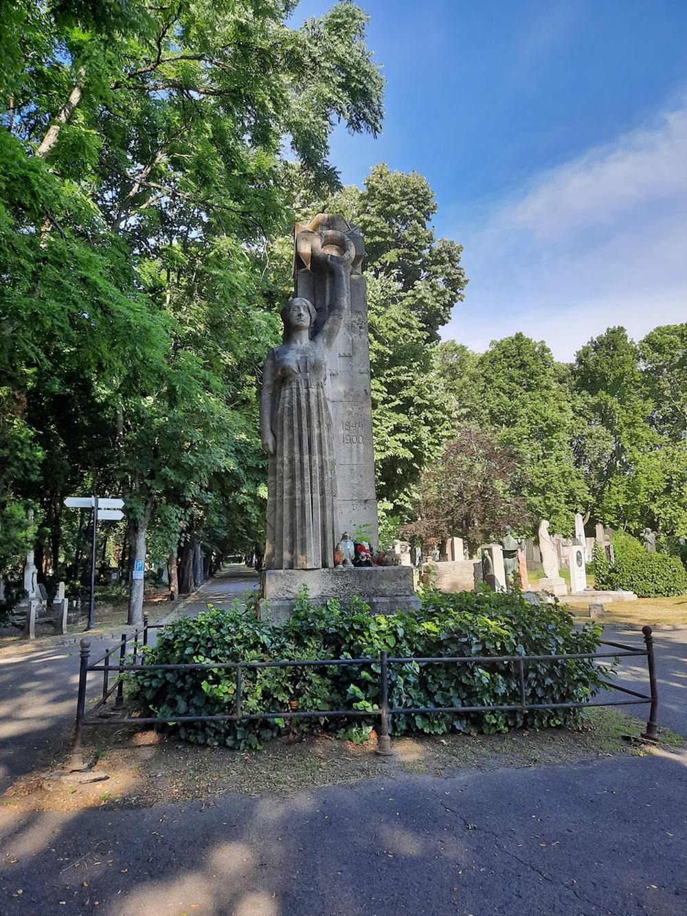 Munkácsi Mihály síremléke