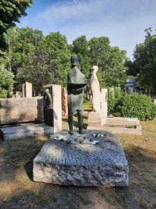 Csontvári Kosztka Tivadar síremléke