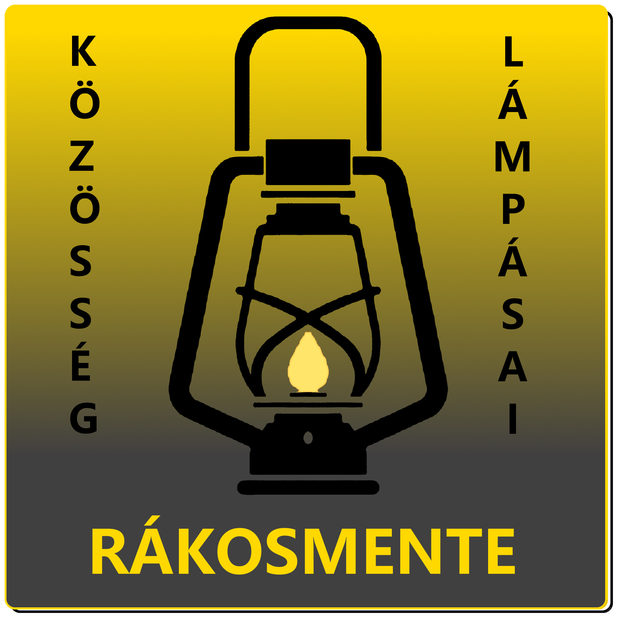 A rákosmenti Lámpás Klub logója