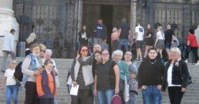 A Bazilikában járt a VI. kerületi Lámpás Klub