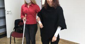 Sajtóközlemény: Nagy lépésekkel a látássérültek munkavállalásáért