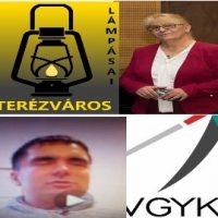 A képen Lukács Erzsébet és dr. Ozvári-Lukács Ádám látható a VGYKE logójával.